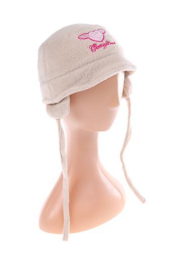 Bonnet beige COMPLICES pour fille