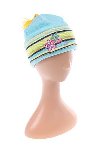 Bonnet bleu BARBIE pour fille