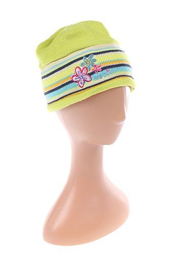 Bonnet vert BARBIE pour fille