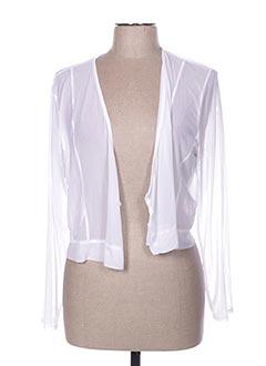 Veste casual blanc 3322 pour femme