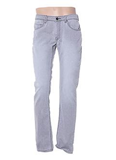 Jeans coupe slim gris TIBET pour homme