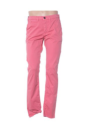 Pantalon casual rose CAMBRIDGE pour homme