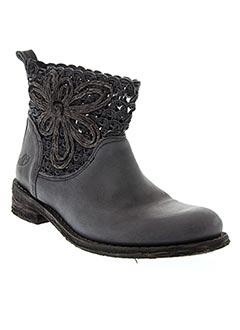 Bottines/Boots bleu FELMINI pour femme