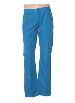 Pantalon casual bleu DANIEL HECHTER pour homme