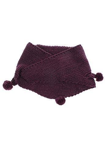 Echarpe violet MAXIMO pour fille