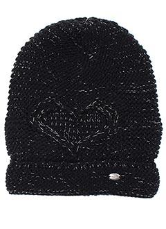 Bonnet noir MAXIMO pour fille