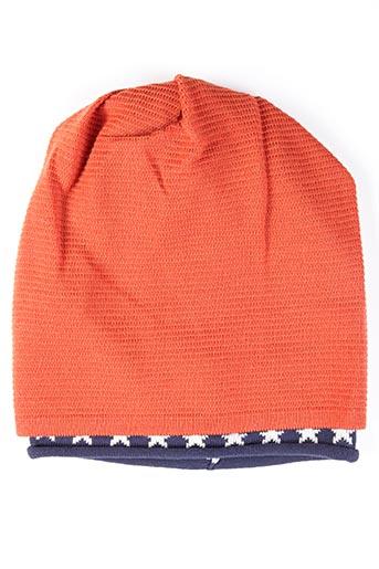 Bonnet orange MAXIMO pour homme