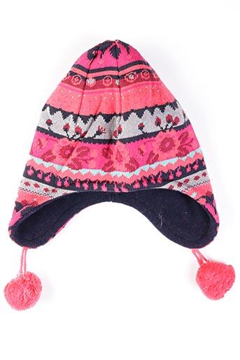 Bonnet rouge MAXIMO pour fille