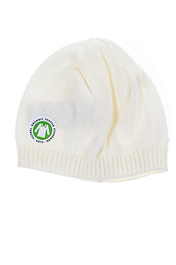 Bonnet blanc MAXIMO pour enfant