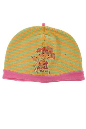 Bonnet jaune MAXIMO pour fille