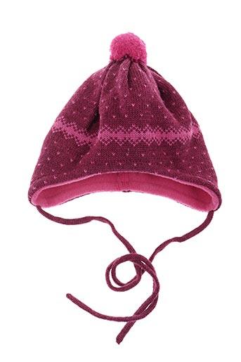 Bonnet rose MAXIMO pour fille
