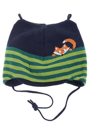 Bonnet vert MAXIMO pour garçon