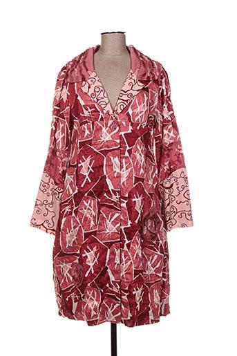 Manteau long rose ALL BEAUTIFUL pour femme