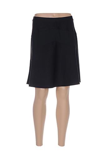Jupe courte noir CASSIOPEE pour femme