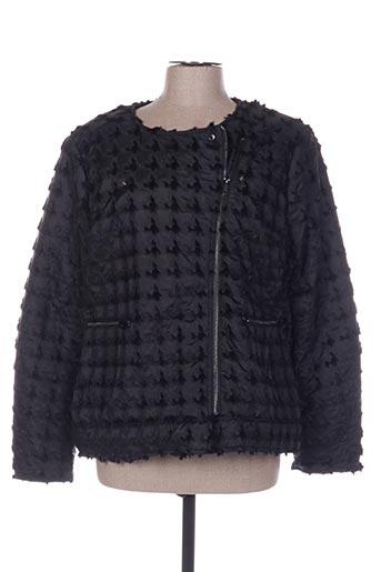 Manteau court noir C.MISSARO pour femme