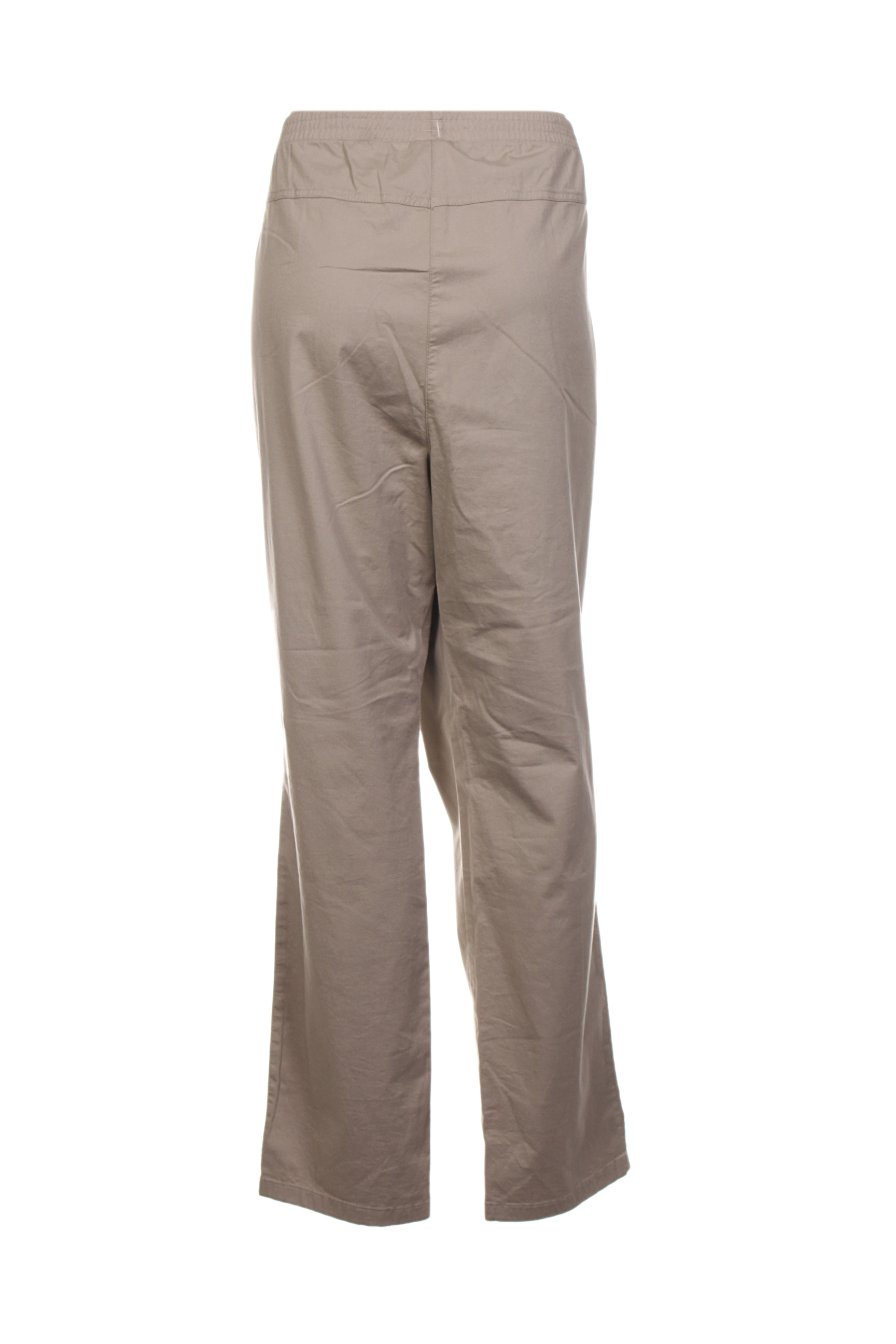 Stark Pantalons Decontractes Femme De Couleur Beige En Soldes Pas Cher 1411024-beige0