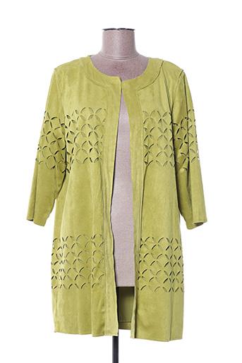 Veste casual vert BOCA BOCA pour femme