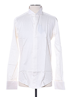 Chemise manches longues beige AUTHENTIQUE pour homme