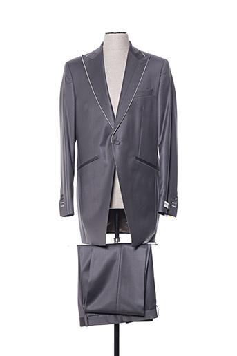 Costume de cérémonie gris AUTHENTIQUE pour homme