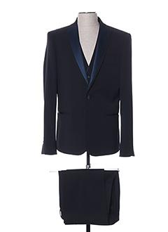 Costume de cérémonie bleu AUTHENTIQUE pour homme