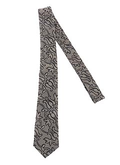 Cravate gris GREGE CREATION pour homme