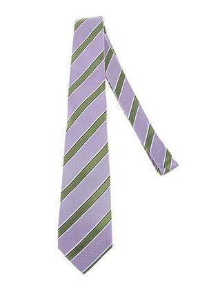 Cravate violet AUTHENTIQUE pour homme