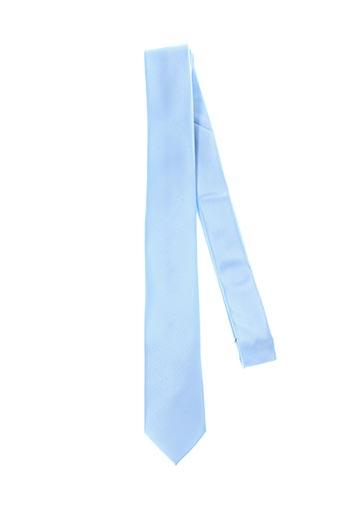 Cravate bleu CLAUDE GABRIEL pour homme