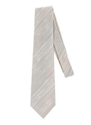 Cravate beige GREGE CREATION pour homme