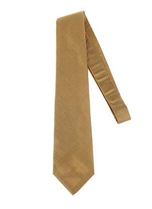 Cravate jaune GREGE CREATION pour homme
