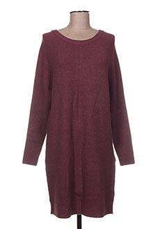 Robe pull rose VILA pour femme