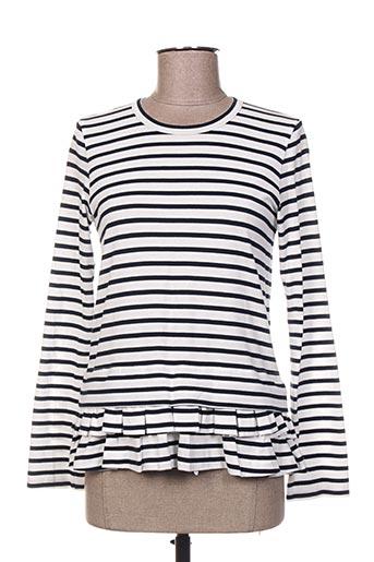 T-shirt manches longues blanc COMME DES GARCONS pour femme