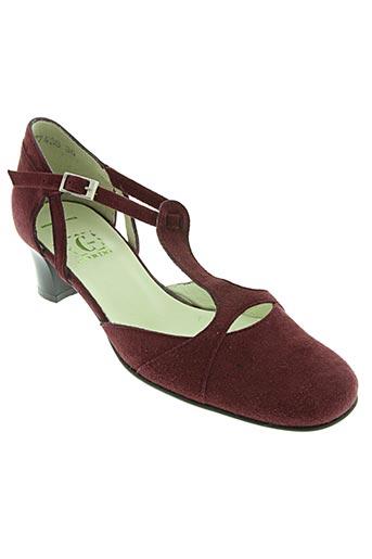 Escarpins rouge CORINE pour femme