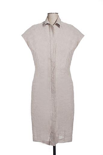 Robe longue beige EFYSE pour femme