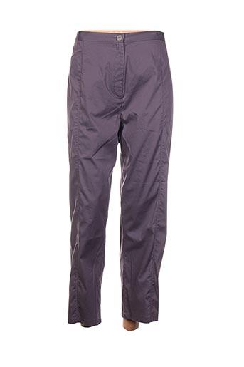 Pantalon casual violet ALL BEAUTIFUL pour femme
