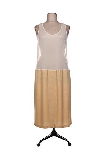 Jupon /Fond de robe jaune CHARLES LORENS pour femme