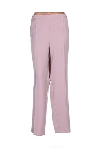 Pantalon chic rose FASHION COLLECTION pour femme