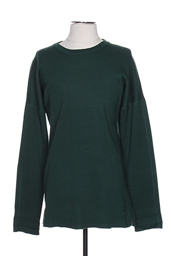 Pull col rond vert SCOTCH & SODA pour homme