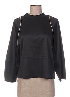 Sweat-shirt noir MAISON SCOTCH pour femme