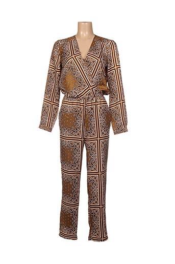Combi-pantalon marron SCOTCH & SODA pour femme