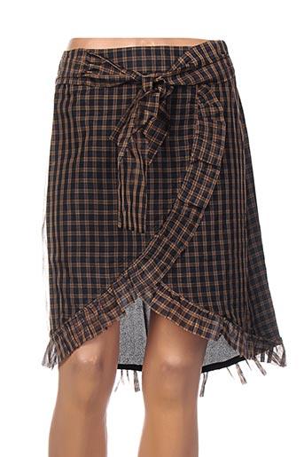 Mini-jupe noir SCOTCH & SODA pour femme