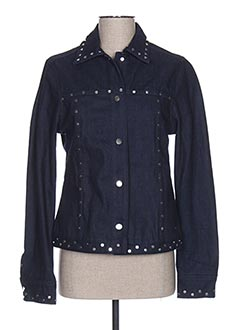 Veste en jean bleu SCOTCH & SODA pour femme