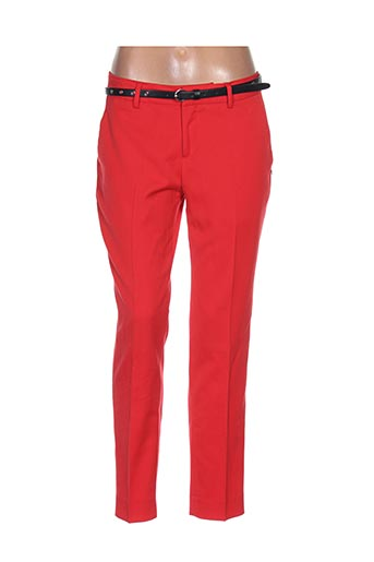 Pantalon casual rouge MAISON SCOTCH pour femme
