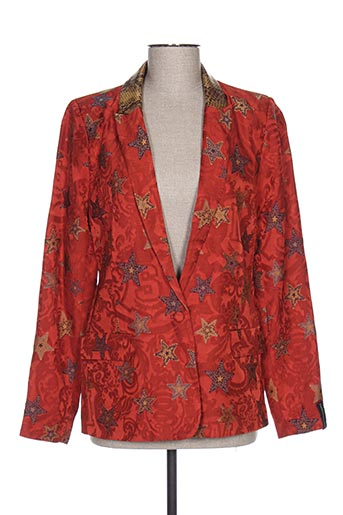 Veste chic / Blazer orange MAISON SCOTCH pour femme