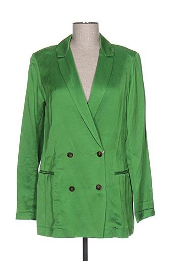 Veste chic / Blazer vert MAISON SCOTCH pour femme