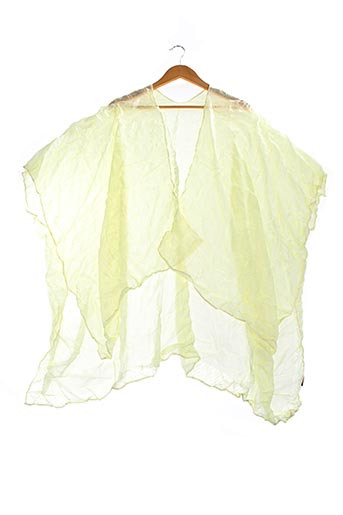 Poncho jaune I.CODE (By IKKS) pour femme