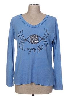Produit-T-shirts-Femme-AU SOLEIL DE ST TROPEZ