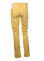 Pantalon casual jaune MANILA GRACE pour femme seconde vue
