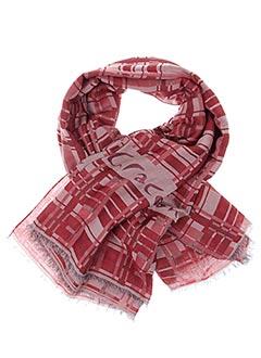 Foulard rouge MANILA GRACE pour femme