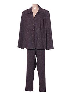 Veste/pantalon violet ATIAN pour femme