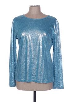 T-shirt manches longues bleu ARTHUR pour femme